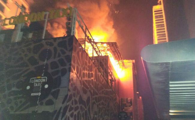 ممبئی کے کملا مل کمپاؤنڈ میں لگی آگ سے 14 کی موت