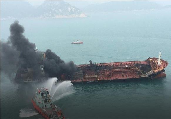 ہانگ کانگ تیل ٹینکر دھماکے میں ایک ہلاک،تین لاپتہ