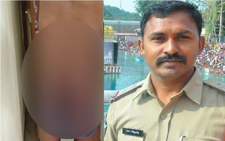 پولیس اسٹیشن میں کانسٹبل پر برسے تین انسپکٹر ، مار-مار کر  کیا شدید زخمی