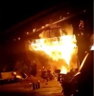 چین کے تین منزلہ بار میں آتشزدگی سے 18 افراد ہلاک