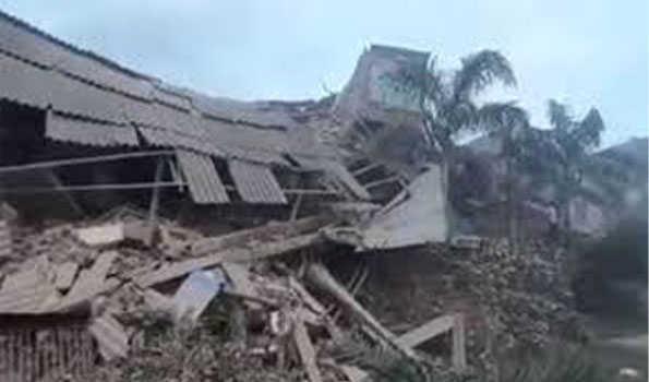 مہاراشٹر:بھیونڈی میں عمارت منہدم ، آٹھ افراد ہلاک