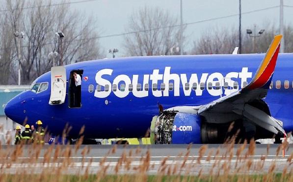 امریکہ:جہاز کا انجن پھٹنے سے مسافر ہلاک