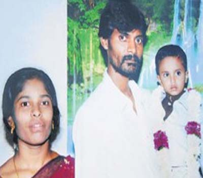 کریم نگرمیں100روپئے کیلئے بیوی کا قتل