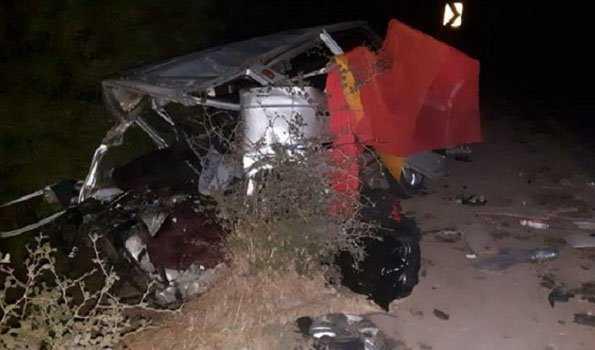 اجین ضلع میں سڑک حادثہ، 12 افراد ہلاک