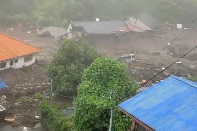 جاپان میں تودے گرنے سے متاثرہ علاقے سے 35،500 افراد کو محفوظ مقامات پر بھیجا گیا