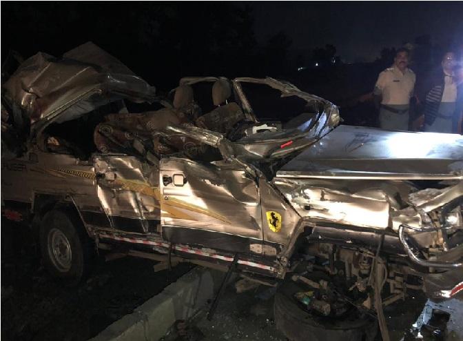 مہاراشٹرا میں بھیانک سڑک حادثہ، 9 کی موت کئی زخمی