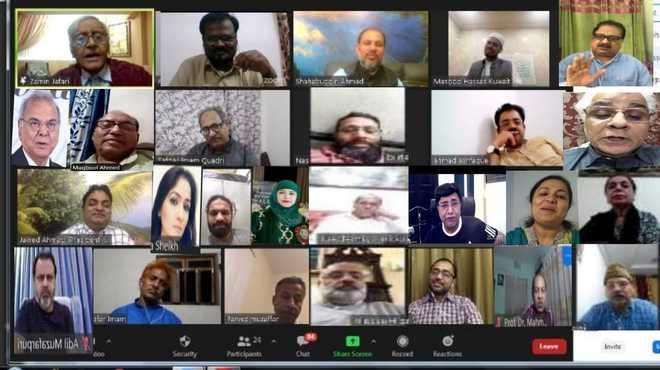 بزمِ صدف انٹرنیشنل کویت شاخ کا آن لائن عالمی مشاعرہ