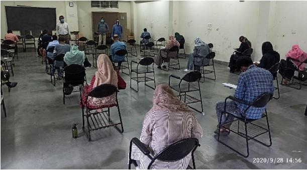 اردو یونیورسٹی کے داخلہ امتحان کا 16 مراکز پر آغاز