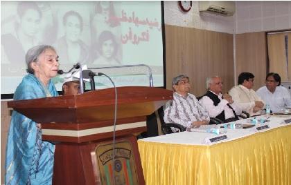 رضیہ سجاد ظہیر اردو فکشن کی معتبر آواز ہیں: ڈاکٹر محمد اسلم پرویز