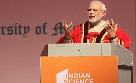 سائنس کی مدد سے نیا ہندوستان:مودی