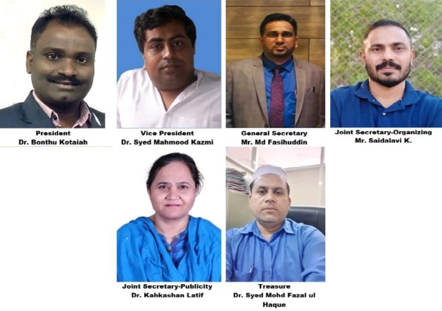 مولانا آزاد نیشنل اردو یونیورسٹی ٹیچرز ایسوسی ایشن(مانوٹا) 22-2021 انتخابات کے نتائج ۔