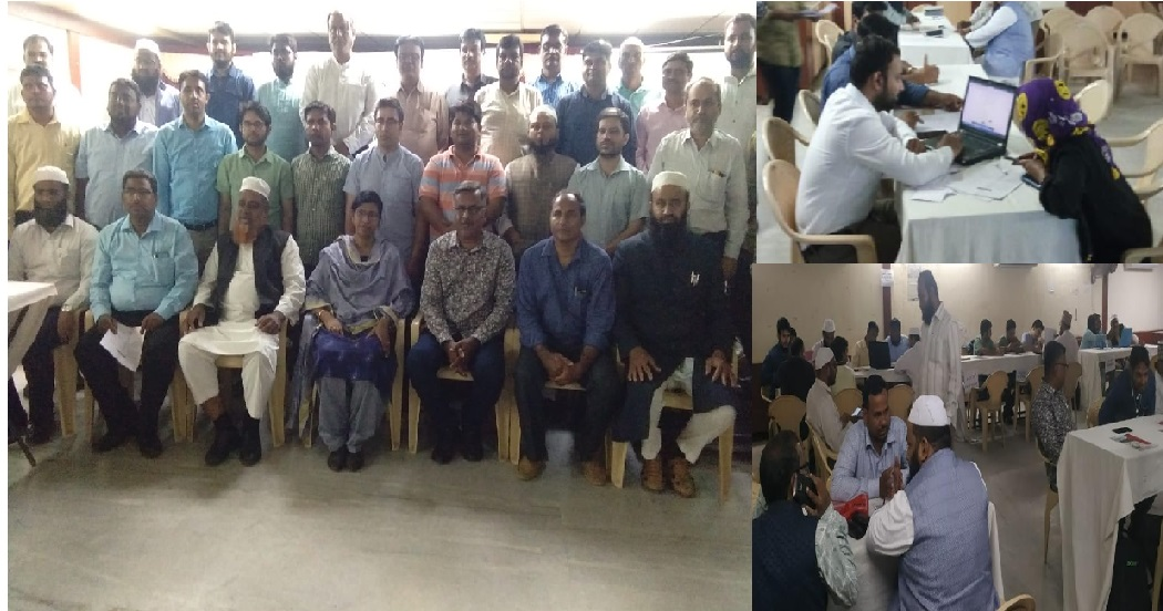 اردو یونیورسٹی داخلہ مہم کا پرانا شہر حیدرآباد میں کامیاب انعقاد
