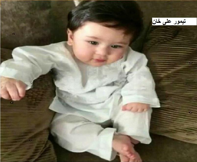 سیف علی خان کے بیٹا تیمور علی خان کا نوابی اسٹائیل