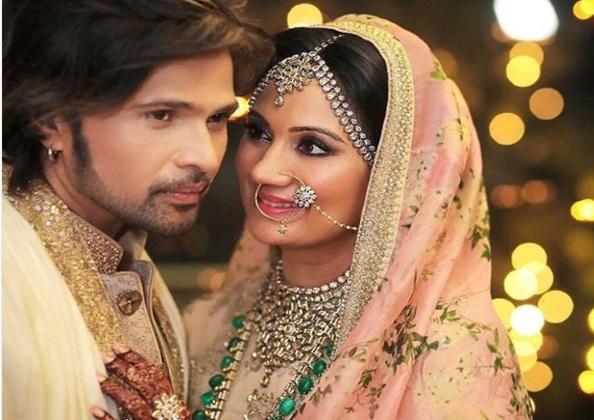 شادی کے بعد ہمیش ریشمیا نے شیئر کی شادی کی فوٹو