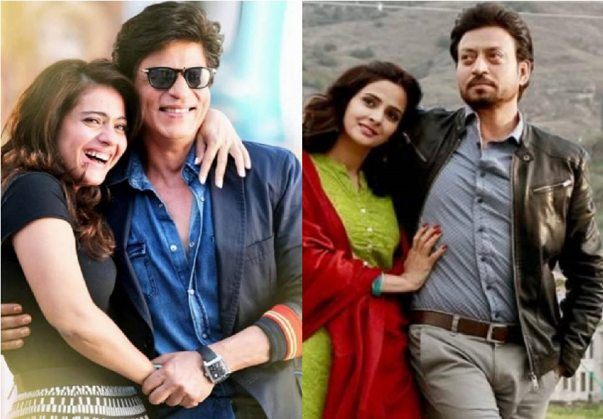 فلم ہندی میڈیم کے سیکول میں نظر آئیں گے شاہ رخ اور کاجول