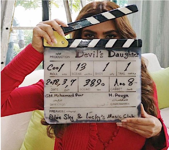 اپنی پہلی ایرانی فلم کی شوٹنگ میں مصروف ہے ایشا گپتا