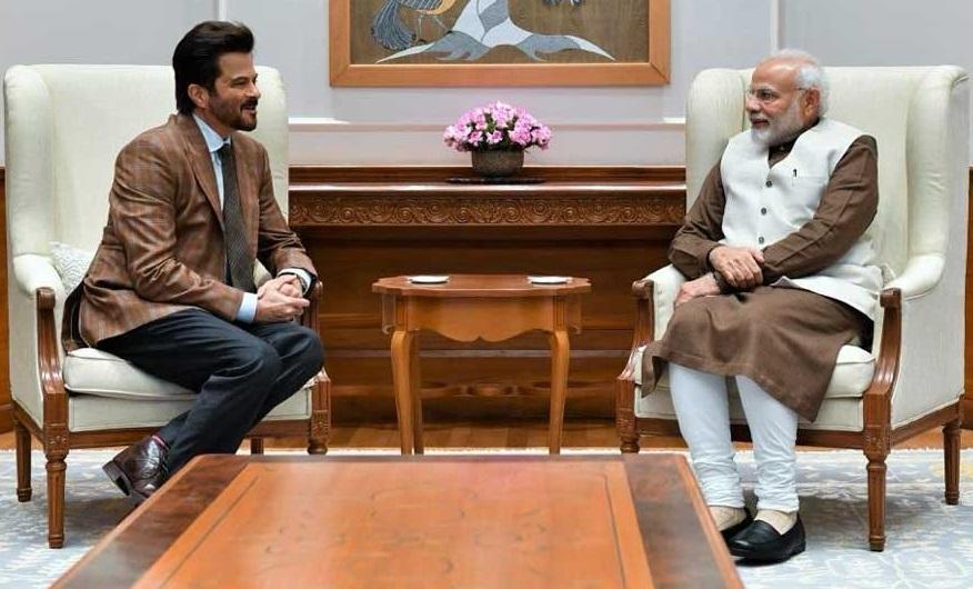 """""""مسٹر انڈیا"""" انیل کپور کی پی ایم"""