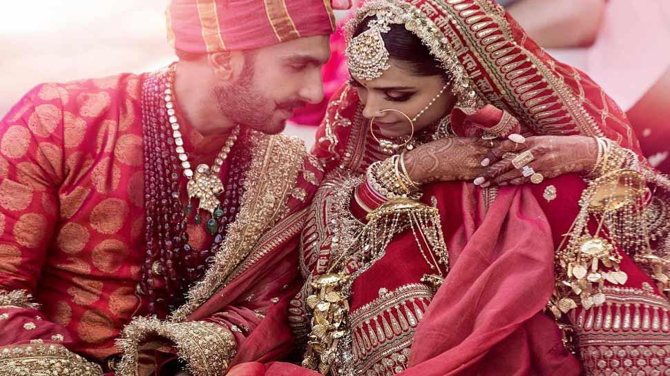 دیپکا اور رنویر کی شادی