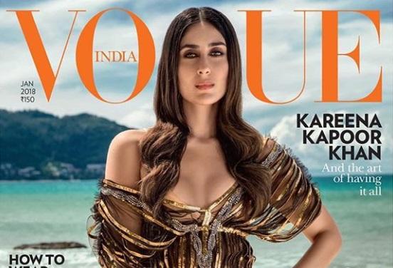 ویگو انڈیا کے فوٹو شوٹ میں الگ انداز میں نظر آئیں کرینہ کپور خان