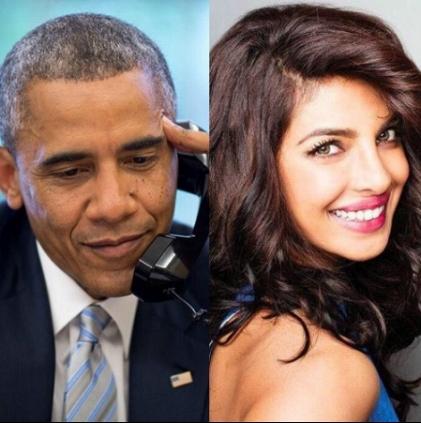 پرینکا چوپڑا کو وائٹ ہاؤس سے آئی دعوت، اوباما نے ڈنر پر بلایا