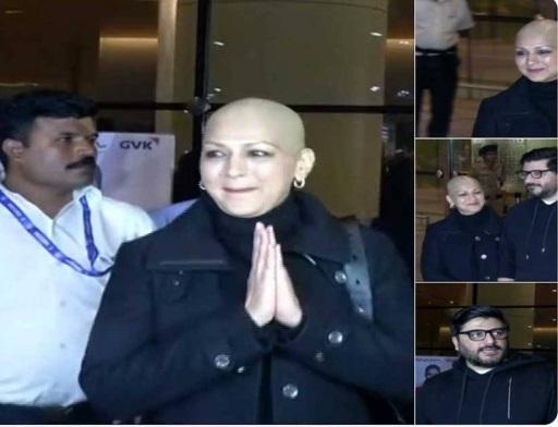 واپس اپنے گھر ممبئی لوٹیں سونالی بیندرے، شوہر نے کہا علاج پورا ہوچکا ہے لیکن--