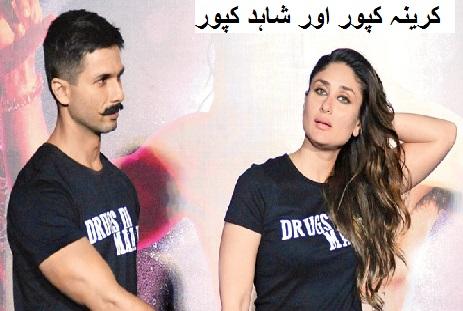 شاہد کپور نے کرینہ کپور سے اپنے تعلقات کو کہا