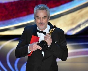 """فلم """"روما"""" ، کوبہترین غیر ملکی زبان فلم کا آسکر ملا"""