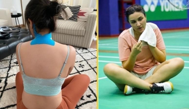 سائنا نہوال کی شوٹنگ کے دوران پرنیتی چوپڑہ زخمی