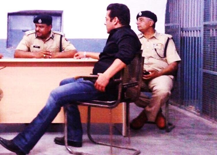 جودھپور سینٹرل جیل میں دبنگ اسٹائل میں دیکھے گئے سلمان