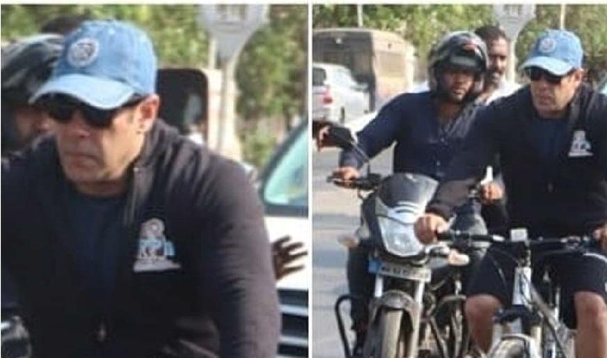 سلمان خان کے خلاف درج ہوئی شکایت، چلتی گاڑی سے صحافی کا موبائل چھینا
