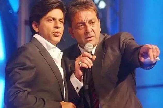 شاہ رخ خان اور سنجے دت پہلی بار فلم