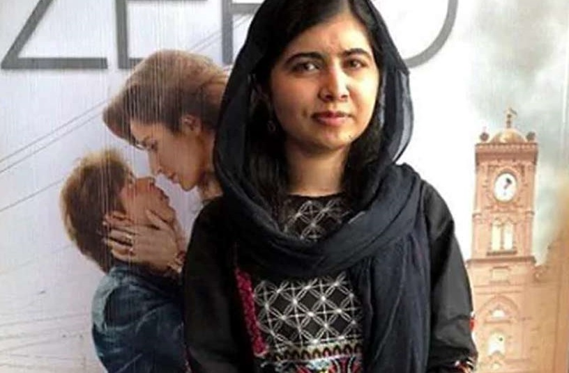 فلم زیرو کی فین  ہوئی نوبل انعام یافتہ ملالہ یوسف زئی : شاہ رخ  سے ایک بار ضرور ملنا چاہوں گی
