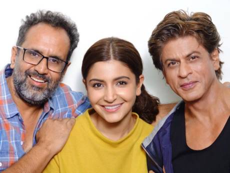 شاہ رخ کے ساتھ فلم زیرو میں کام کرنا خوش قسمتی:انوشکا شرما