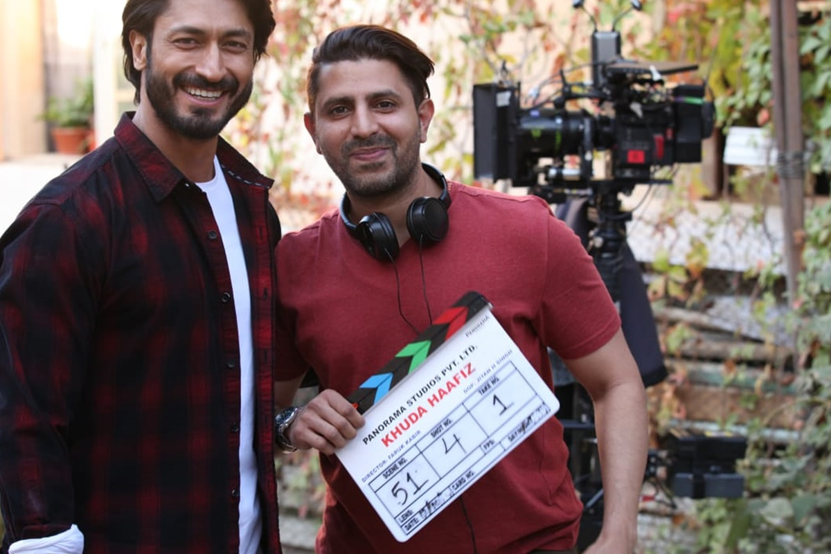 'خدا حافظ' فلم کی شوٹنگ کا آغاز