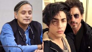 شاہ رخ خان کی تکلیف پر خوشی منانے والوں کی تھرور نے مذمت کی