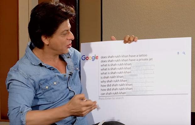 گوگل پر شاہ رخ خان کے بارے میں تلاش کئے گئے یہ 10 سوالات
