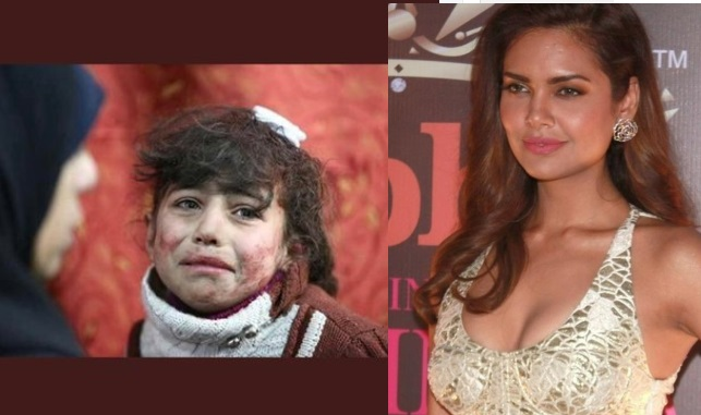 ایشا گپتا کو مہنگی پڑی شامی بچوں کی حمایت کرنا