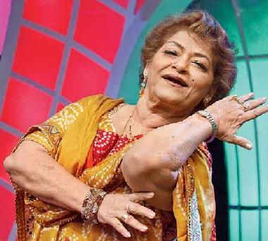 سروج خان بالی وڈ کی مشہور کوریوگرافر ، جس کی تال پر ہر اداکار نے رقص کیا