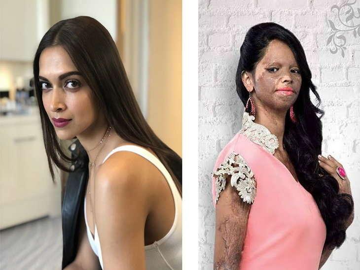 دیپکا نبھائیں گی ایسڈ حملہ سے متاثر لڑکی لکشمی اگروال کا رول
