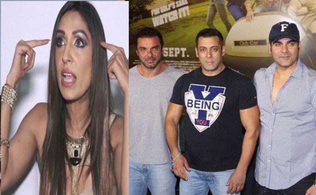 اداکارہ پوجا مشرا نے سلمان اور انکے بھائیوں پر لگائے اجتماعی عصمت دری کا الزام