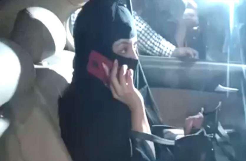 تنوشری برقع پہن کر پہنچی پولیس اسٹیشن:نانا پاٹیکر سمیت 4 لوگوں کے خلاف ایف آئی آر درج