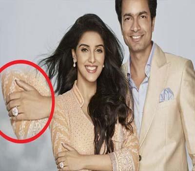 راہل شرما نے بالی ووڈ اداکارہ اسین کو6کڑوڑ کی انگھوٹی گفٹ دی