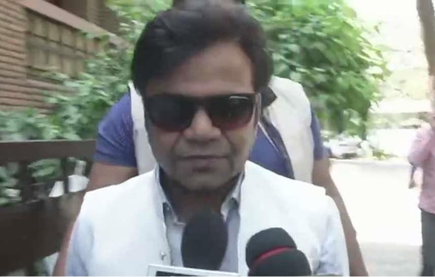 اداکار راجپال کی دہلی میں شیلا دکشت سے ملاقات