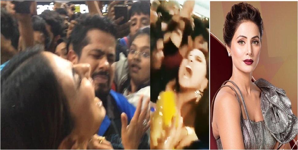 شاپنگ مال میں حنا خان کے ساتھ ہوئی بدتمیزی