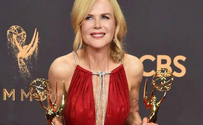 Emmys 2017: آسکر کے فاتح نیکول کڈمن نے اپنا پہلا اممی جیت لیا
