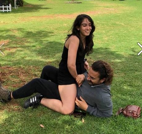 بیٹی ایرا خان کے ساتھ عامر نے شیئر کی فوٹو