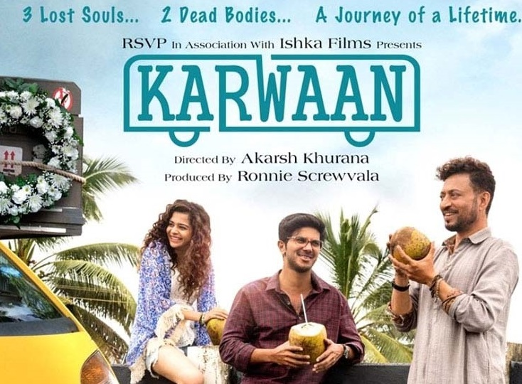 """عرفان خان کی فلم """"کارواں"""" کا ٹریلر کل ہوگا ریلیز"""