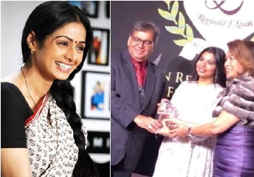 کانز 2018 میں دیا گیا سری دیوی کو اعزاز