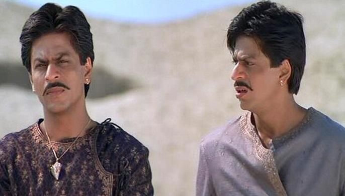 شاہ رخ خان ڈبل رول میں نظرآئیں گے