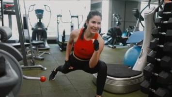 کترینہ کیف ٹائیگر 3 کے لئے سخت محنت کررہی ہیں